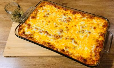 Nerdy Lasagna: UK Cheese, Garfield and Mum's Lasagna