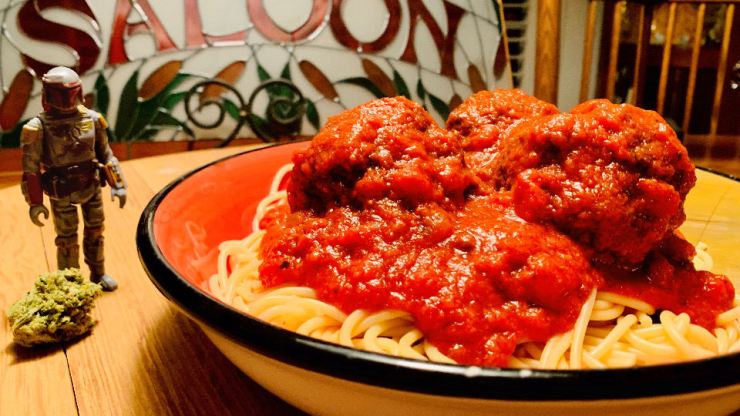 Spaghetti western meatballs