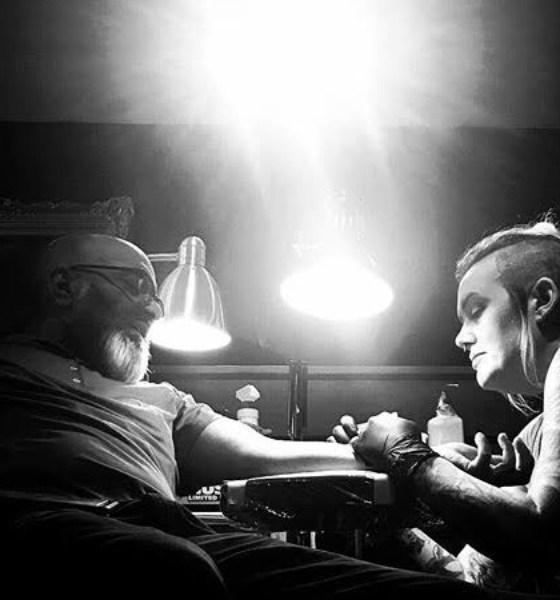 Tattoo artist carole Nelan