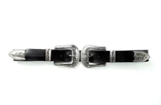 Double Western Belt