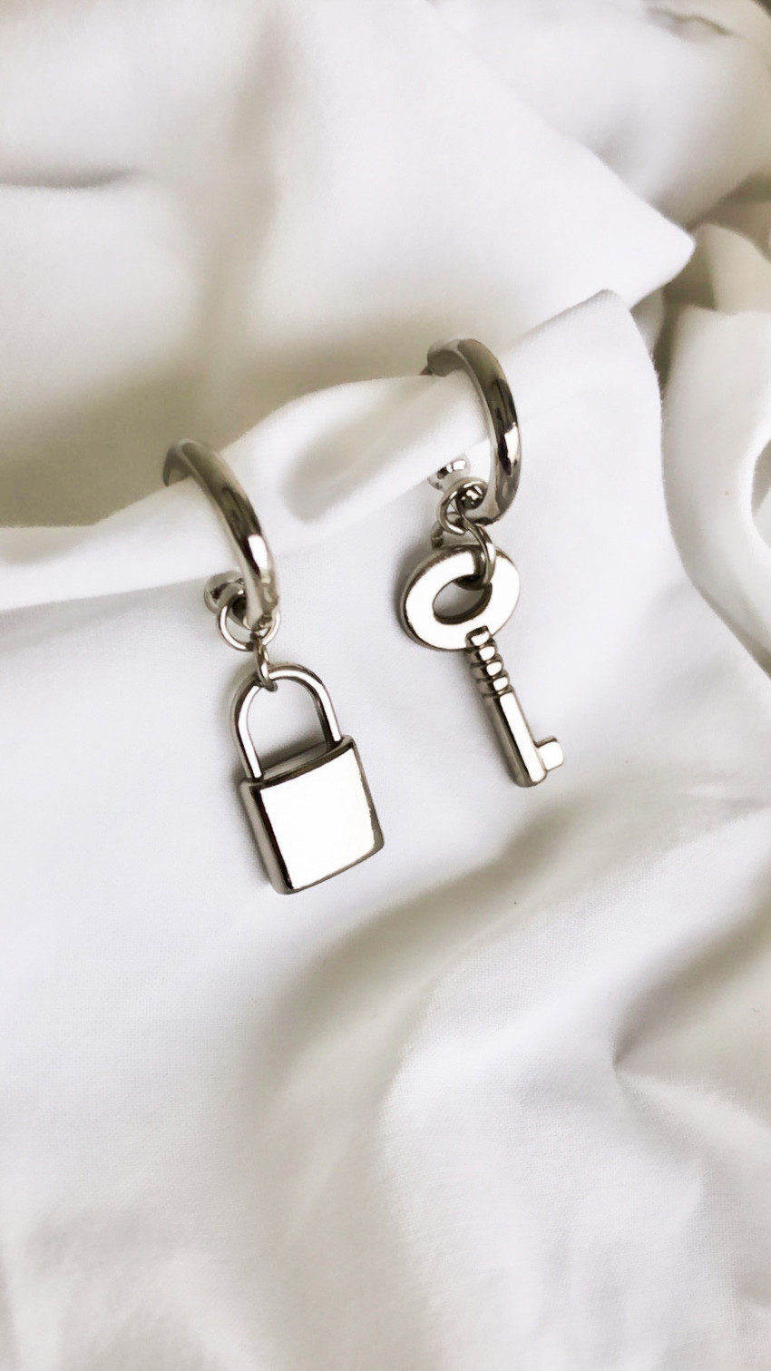 Brinco Key Padlock Silver