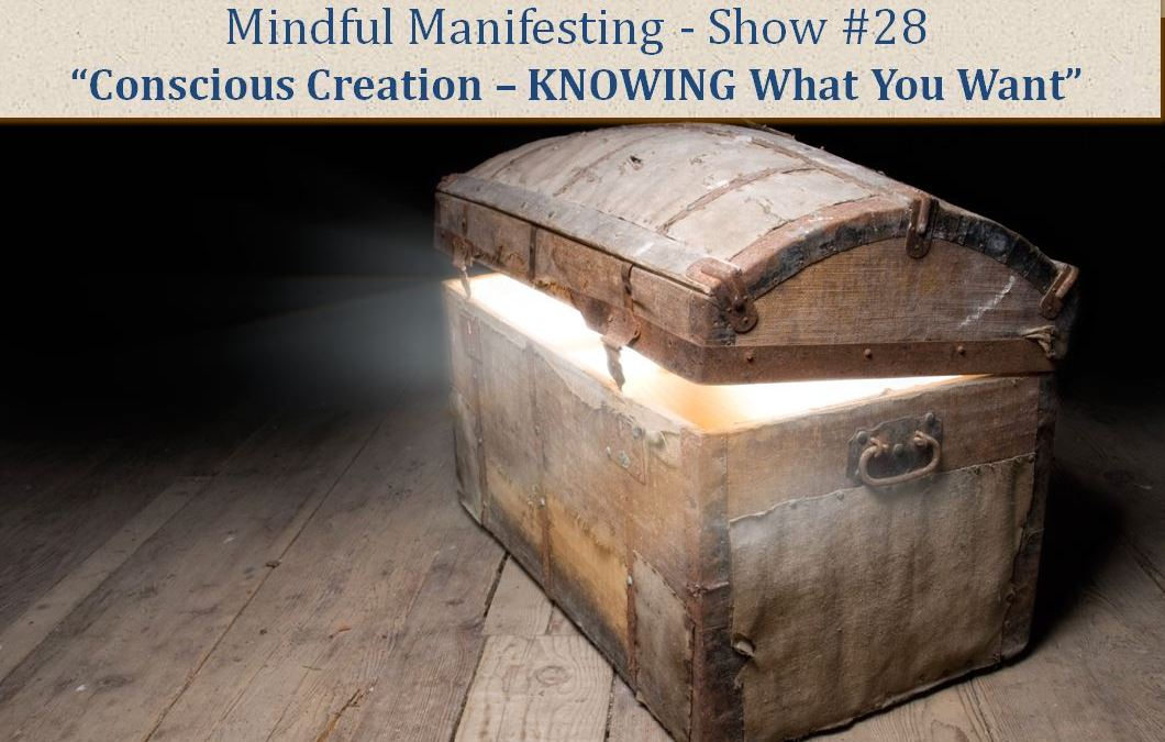 How to KNOW What You Want and Focus it Into Reality MM Show # 28