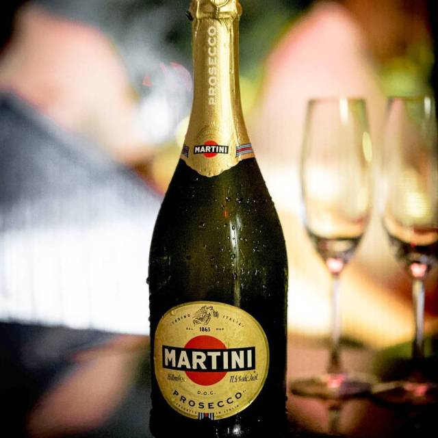 Prosecco from Martini enjoyed at their F1 party The Williamshellip
