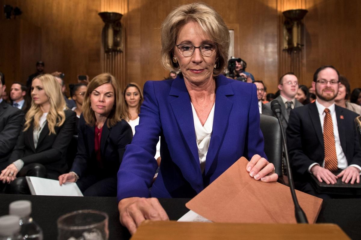 Public Schools vs. Charter Schools vs. Betsy DeVos