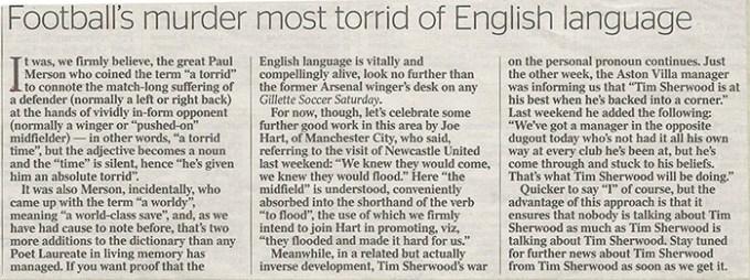 Football English