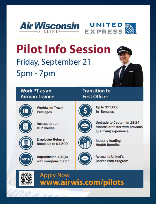 Air Wisconsin Pilot Info Session – High Flight Academy
