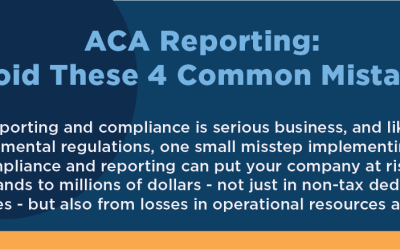Avoid These 4 Common ACA Reporting Mistakes