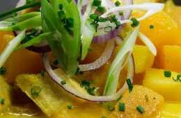 Steckrüben-Kartoffel-Gulasch