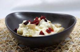 Rhabarber-Cranberry-Milchreis