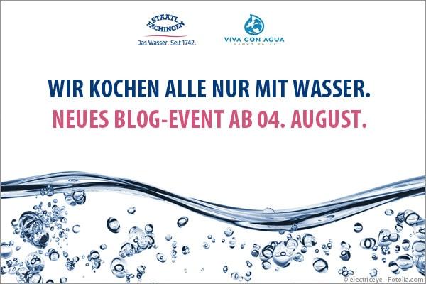 Blog-Event: Wir kochen alle nur mit Wasser