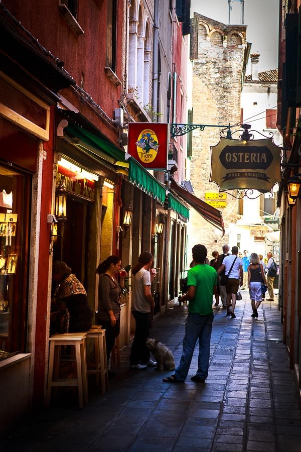 Trattoria da Fiore, Calle delle Botteghe, San Marco, 3461, Venedig