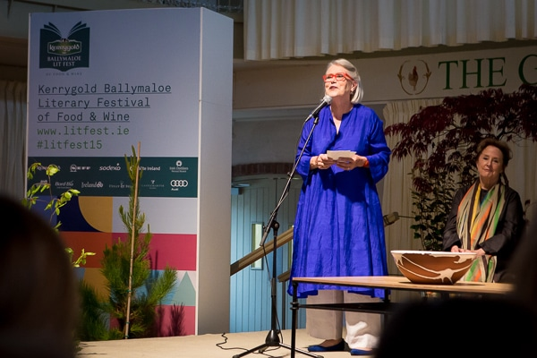Kerrygold Ballymaloe Literary Festival of Food and Wine 2015 in Irland, Darina Allen