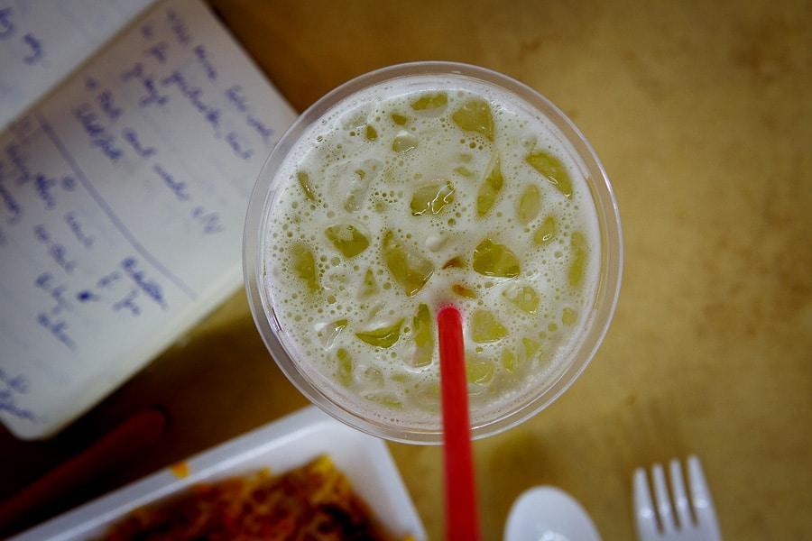 Zuckerrohr-Limonade