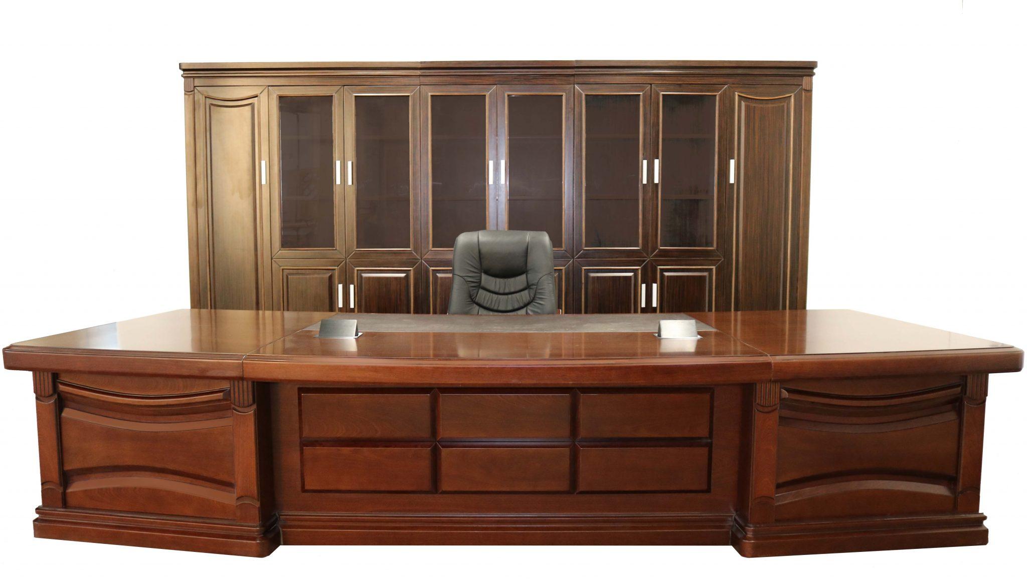 HighGate Executive Office Furniture Suite  Curved Desk