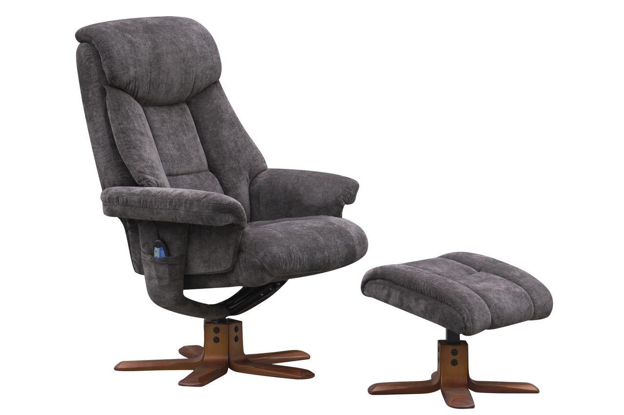 swivel chair sale uk chocolate recliner gfa exmouth massage fabric charcoal