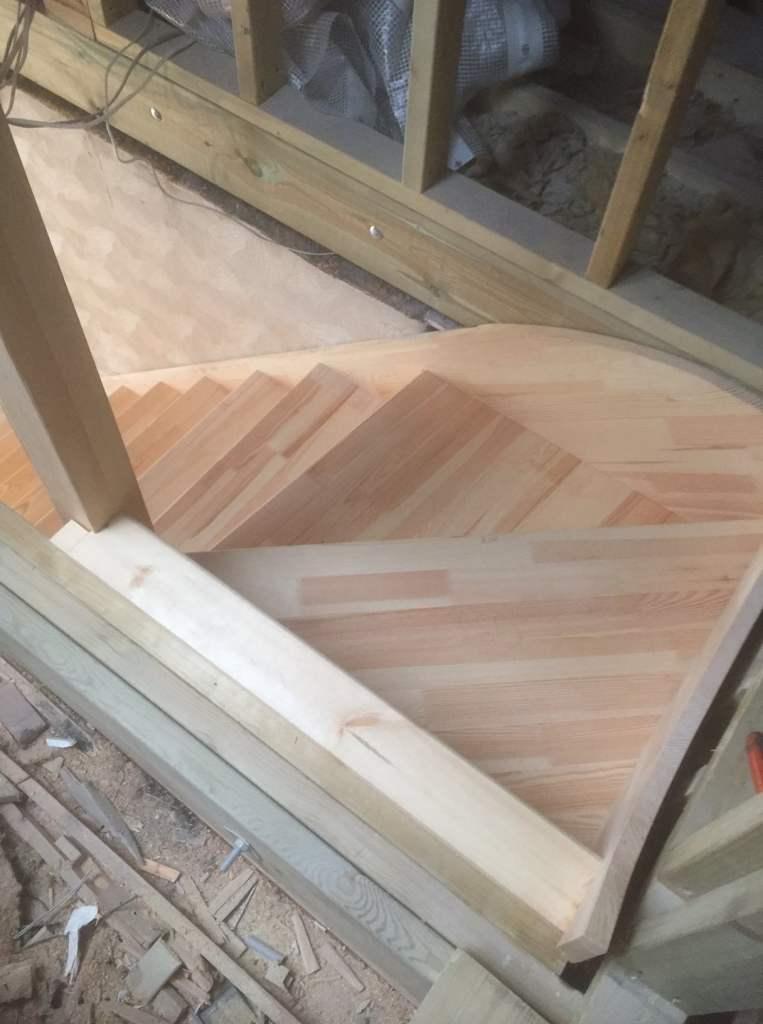Softwood purpose made staircase - Hertford 5