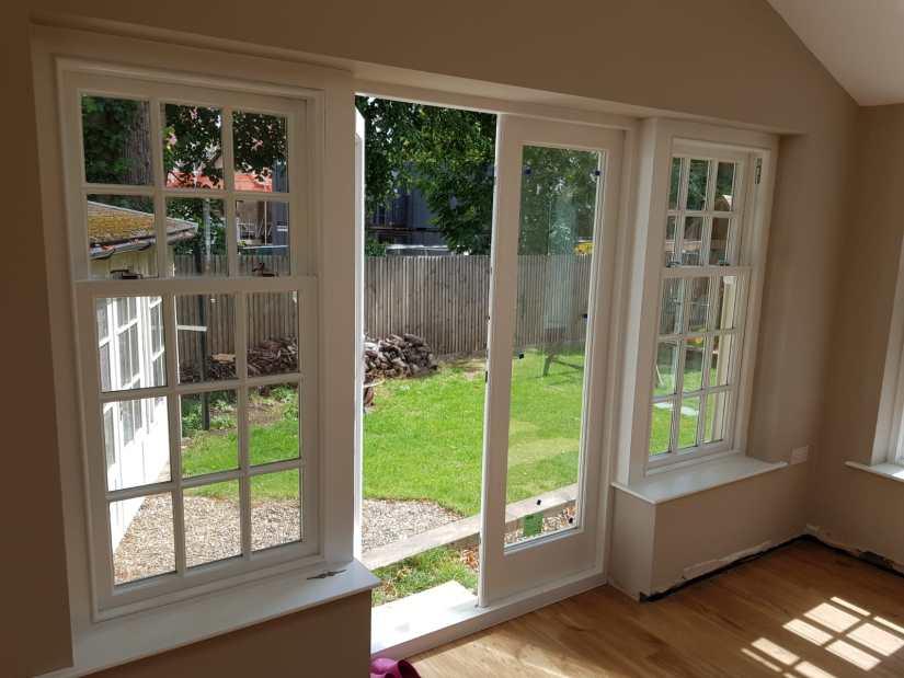 Sash windows and french doors - Essex 1
