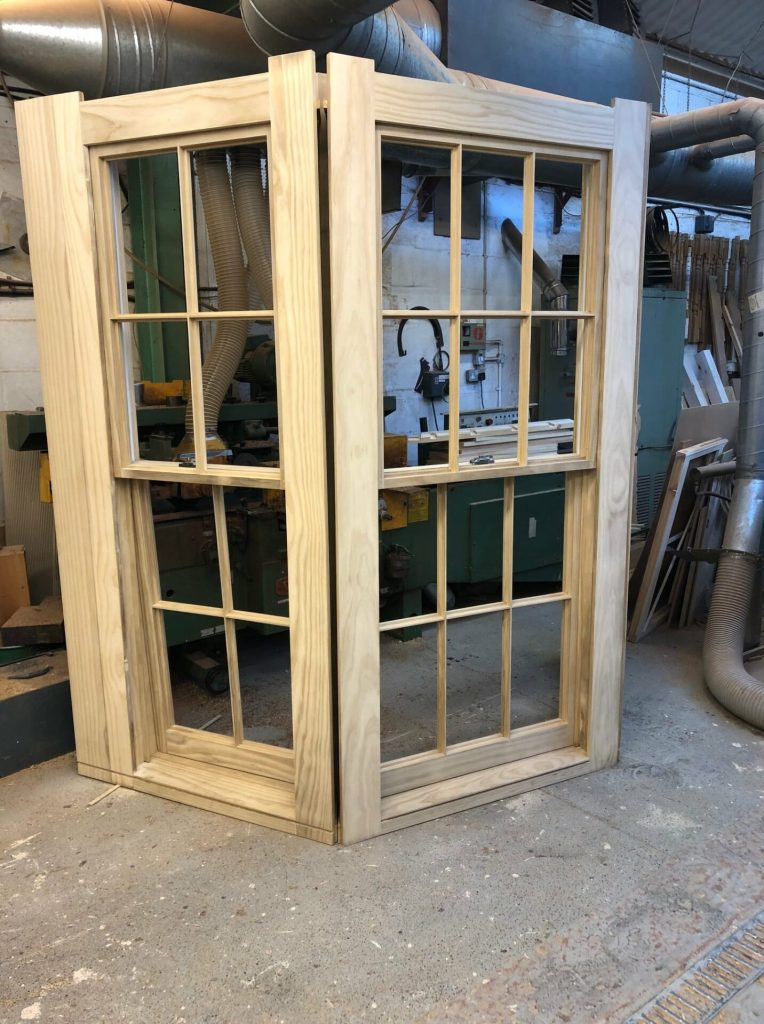 Accoya sash window