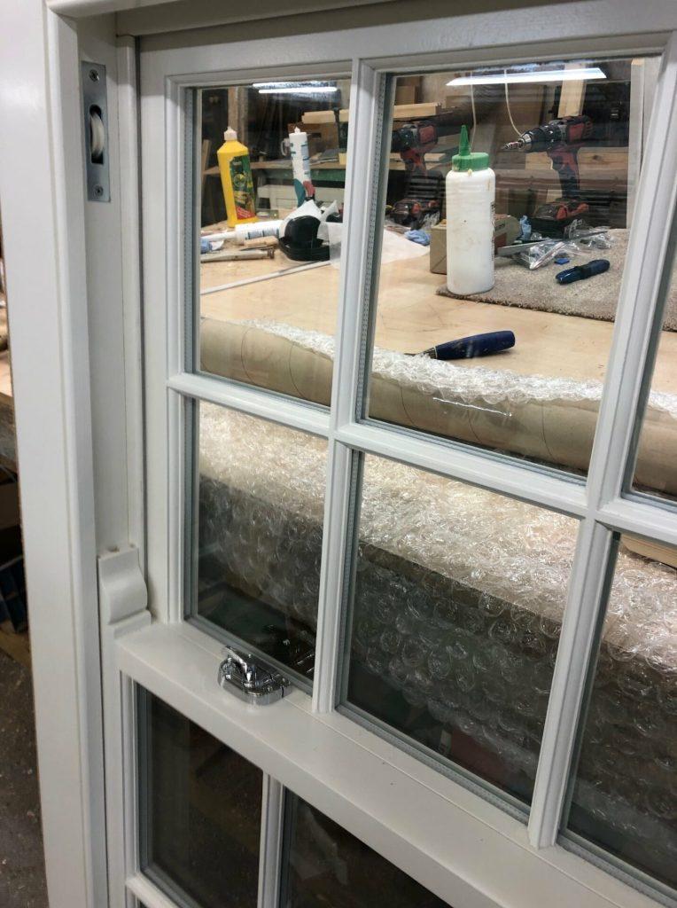 Softwood double glazed sash windows - Ware 4