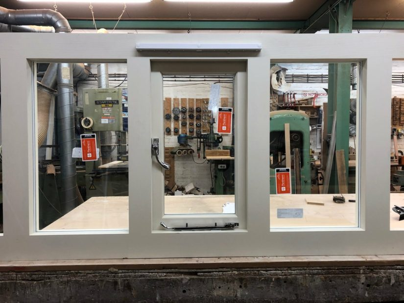 Softwood casement window - Kentish Town 1
