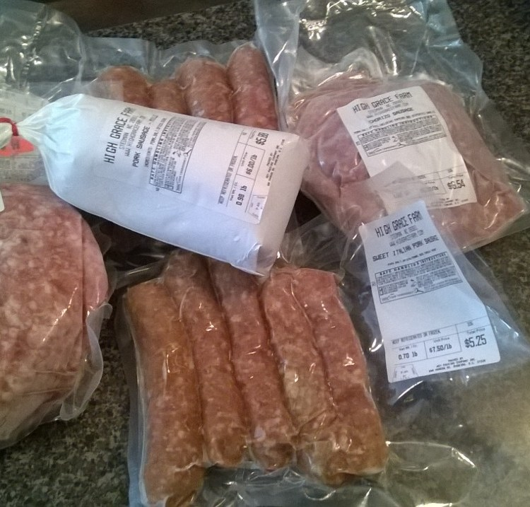 High Grace Farm Sausage