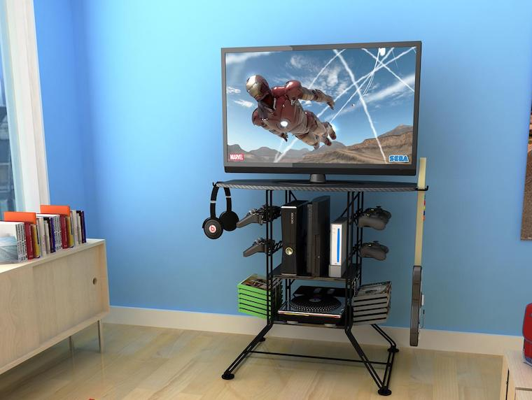 20 Best Gaming TV Stands  Game Racks of 2018  High
