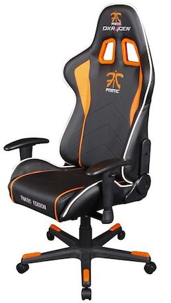 dx gaming chair light blue covers racer fnatic edition one of the best pc chairs high