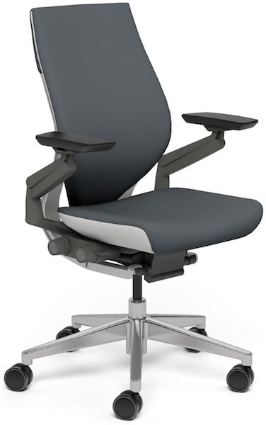 steelcase gesture chair retro chrome table and chairs by top gaming high ground