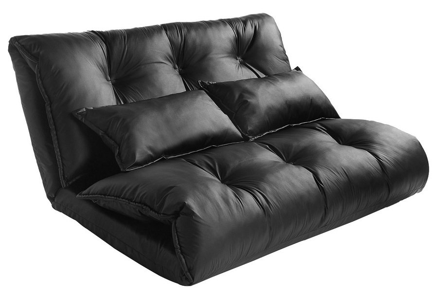 pu leather sofa reviews bed sectional 5 best gaming couches: night just got a whole lot ...