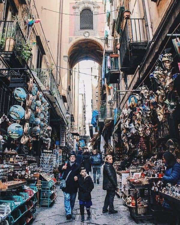 Southern Italy Naples Streets