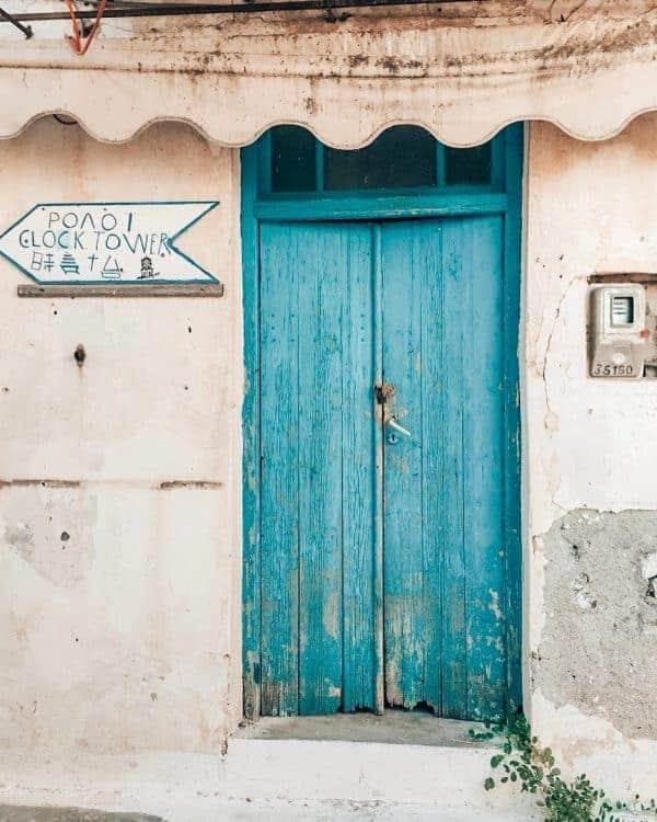 Poros island, Saronic Gulf itinerary
