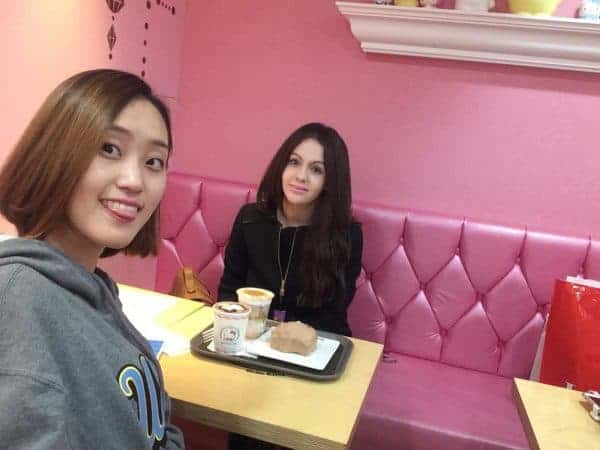 Hello Kitty Coffee Shop, Seoul