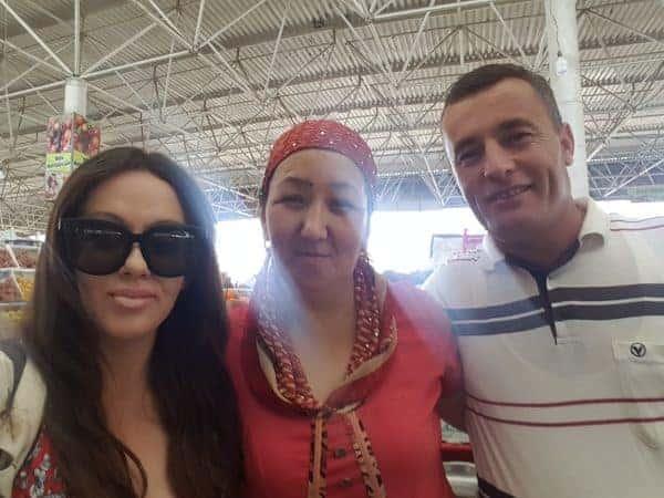 Urgench market, Uzbekistan