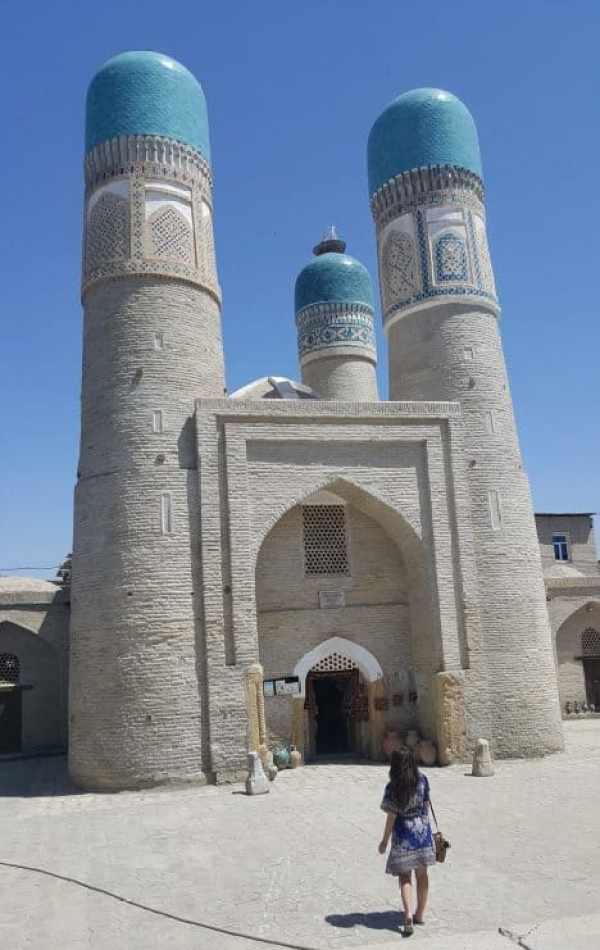 Chor Minor Mosque, Bukhara