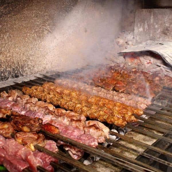 Food from Turkey: Sis kebabs