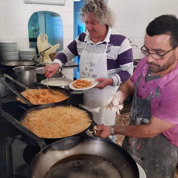 Greek Food: Margaro Restaurant in Piraeus