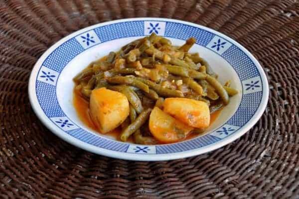 Greek Food: Delicious Fasolakia
