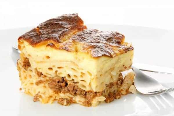 Greek Food: Pastitsio