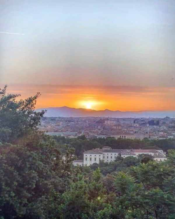 Some of the best views in Rome can be enjoyed from Gianicolo