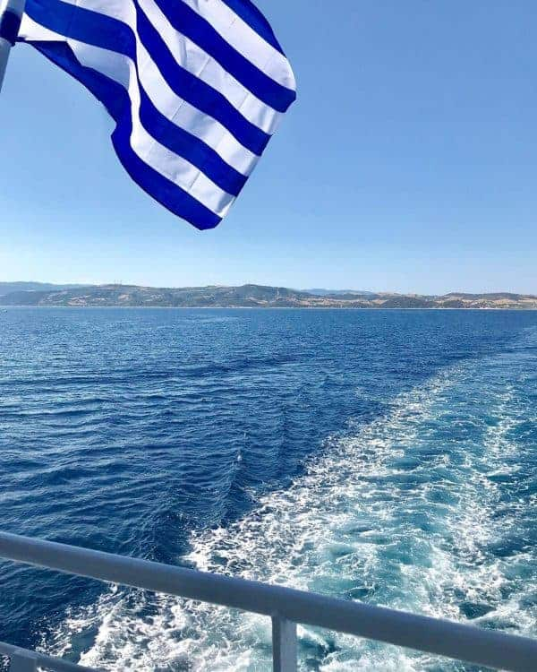 Sailing around Mount Athos, Halkidiki