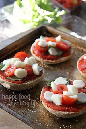 Mini Margherita Pizzas - 30 Minute Back to School Meals