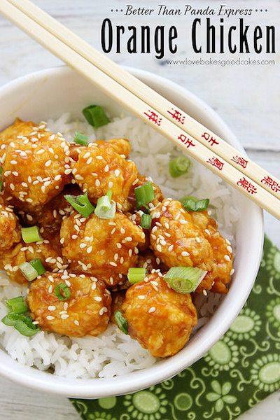 Orange Chicken - Easy Meal Plan #17