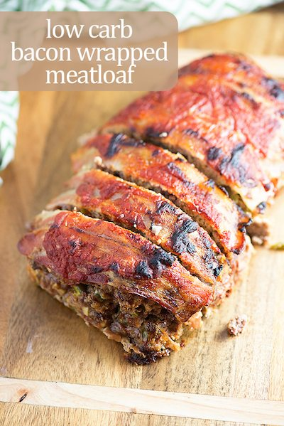 Low Carb Bacon Wrapped Meatload - Easy Meal Plan #20
