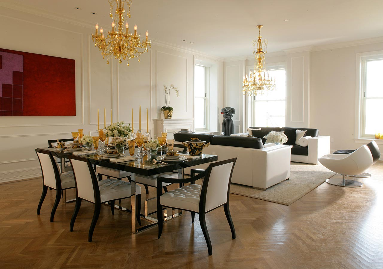 High In Design  Premium Furniture Collection  Versace Dining
