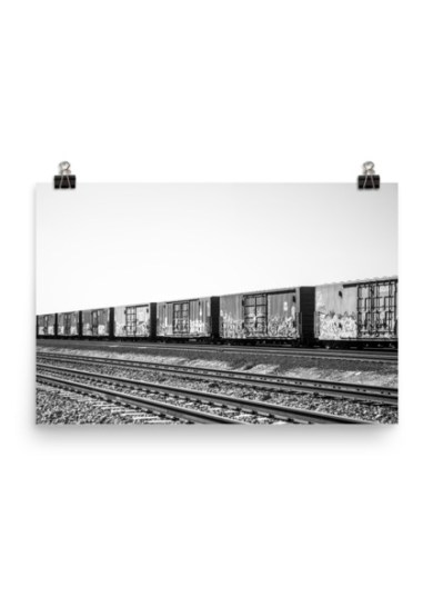 Freight Heaven Poster Print
