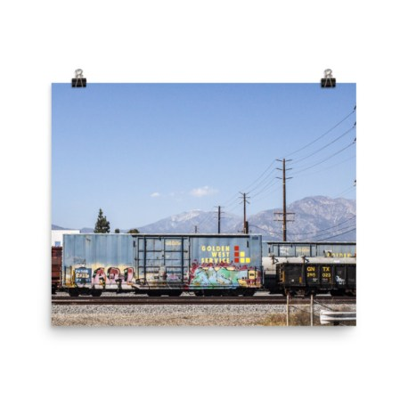 Golden West Service Poster Print