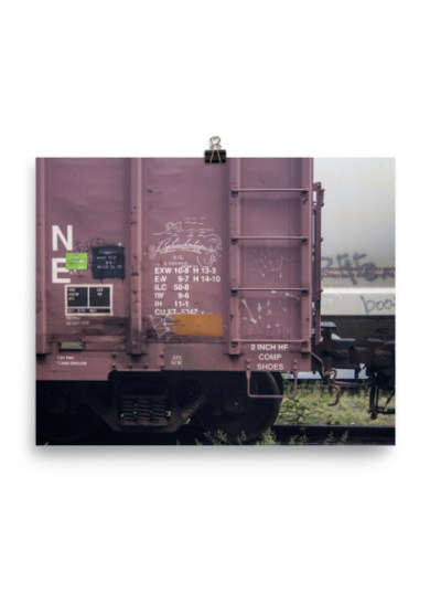Retribalize Moniker Poster Print