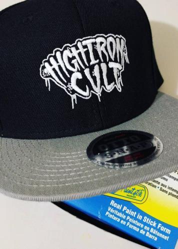 High Iron Cult Railroad Snapback Hat