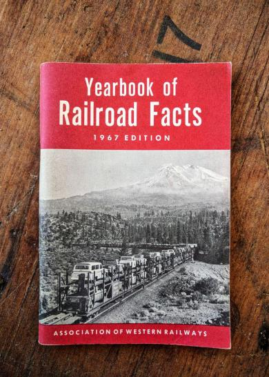 Yearbook of Railroad Facts 1967 Edition