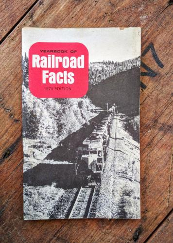 Yearbook of Railroad Facts 1974 Edition
